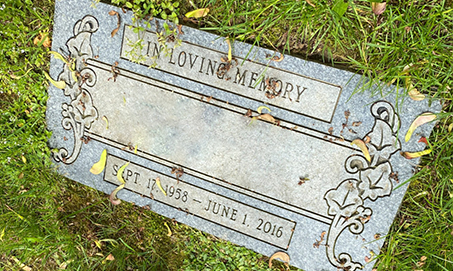 Ground-Markers-Cemetery